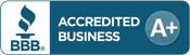 BlueChariot is rated A Plus by Better Business Bureau